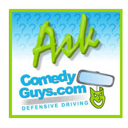 ask comedy guys driving questions