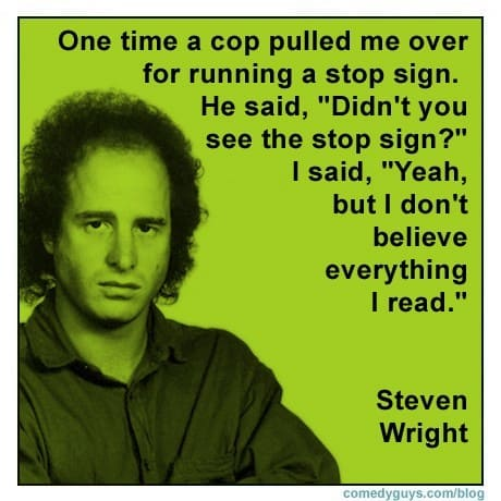 steven wright stand up comedy