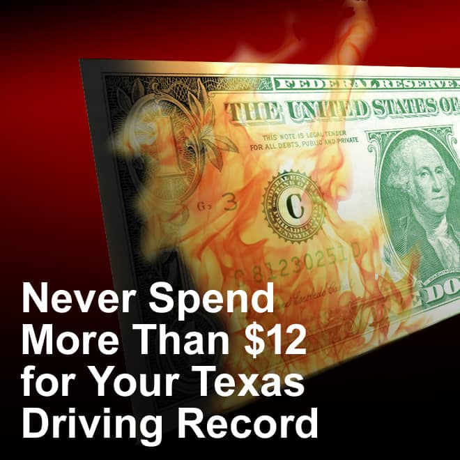 texas driving records