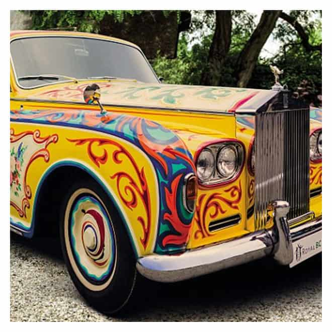John Lennon's psychedelic Rolls-Royce Comedy Guys Defensive Driving blog