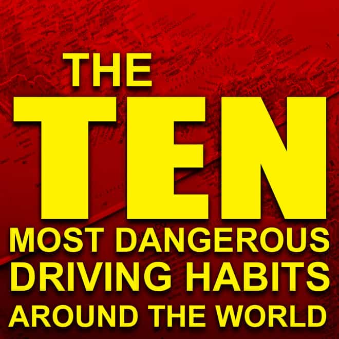 comedy guys defensive driving blog - top bad driving habits around the world